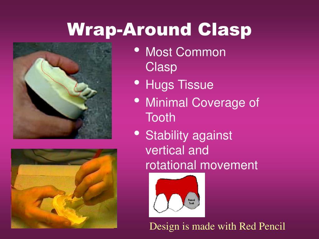 Wrap-Around Clasp