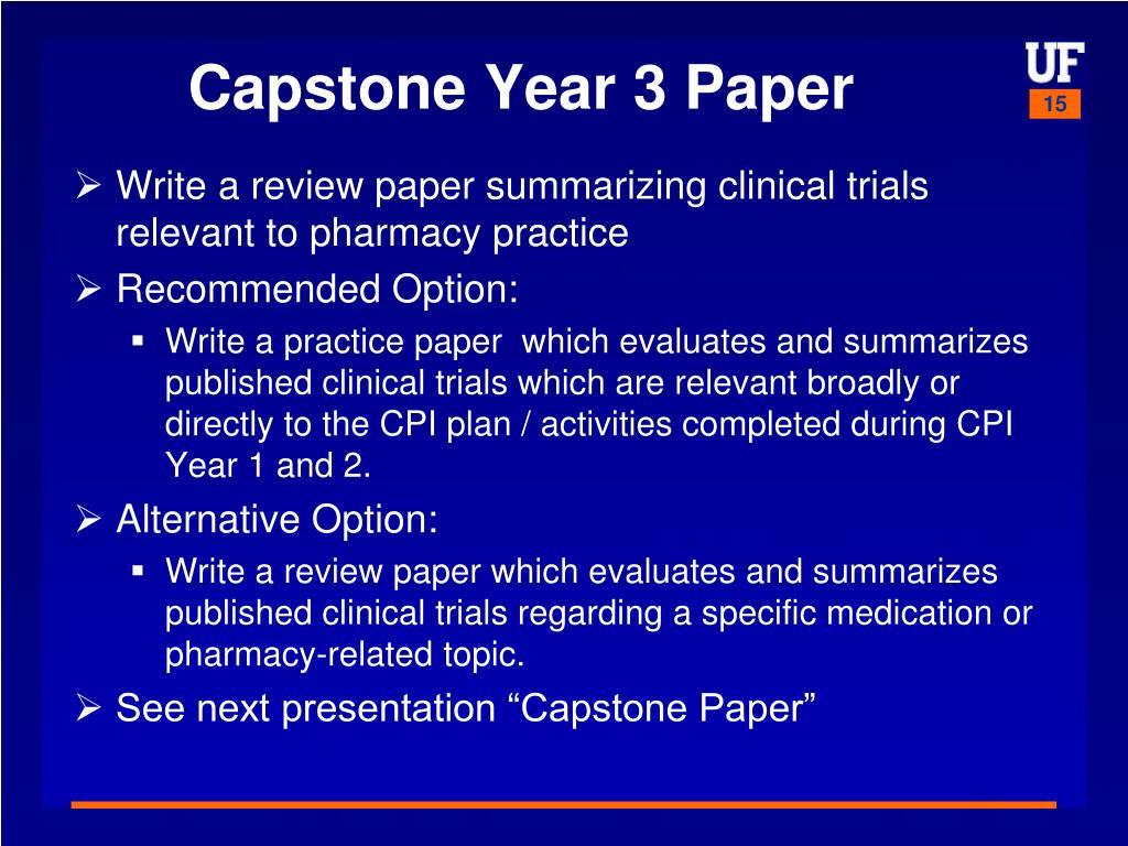 Capstone Year 3 Paper