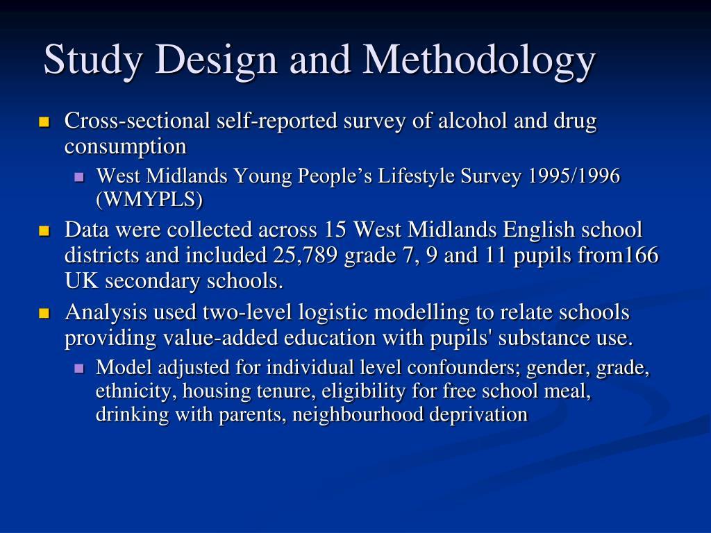 Study Design and Methodology