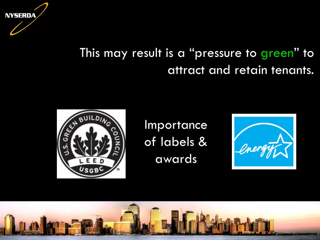 Importance of labels & awards