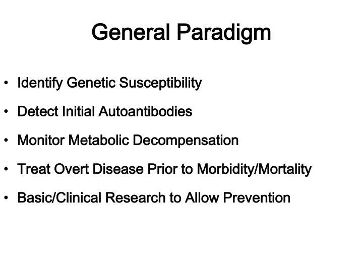 General Paradigm