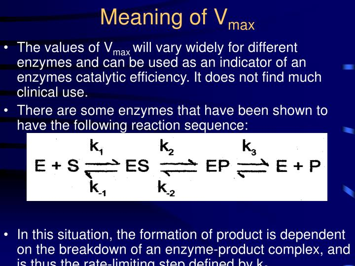 Meaning of V