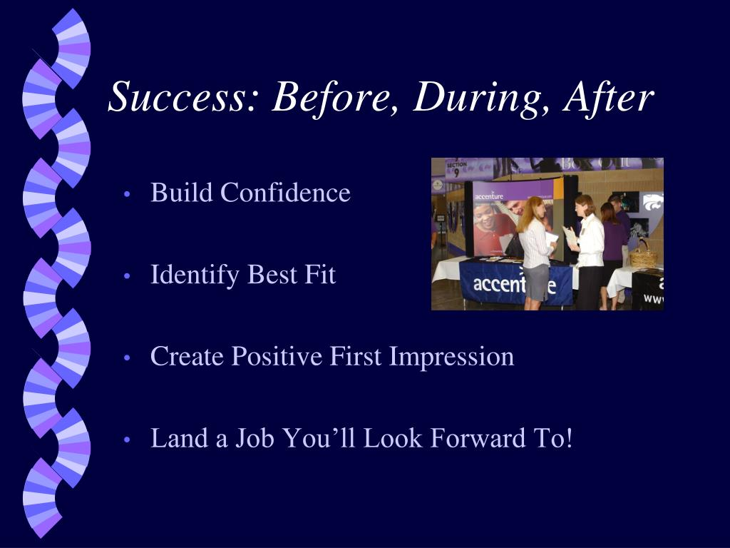 Success: Before, During, After