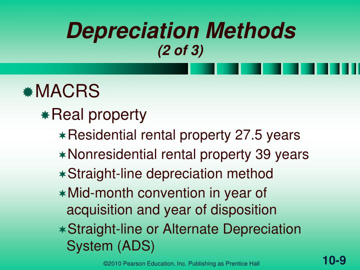 Rental Property Leasehold Improvements Depreciation