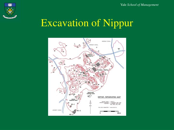 Excavation of Nippur