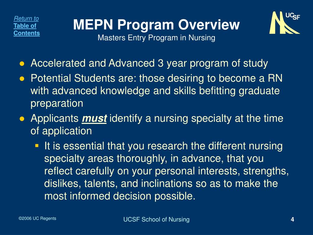 MEPN Program Overview