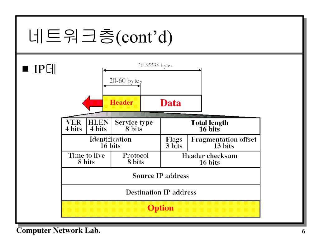 네트워크층