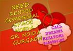 need rented comercial space noida gr noida gurgaon