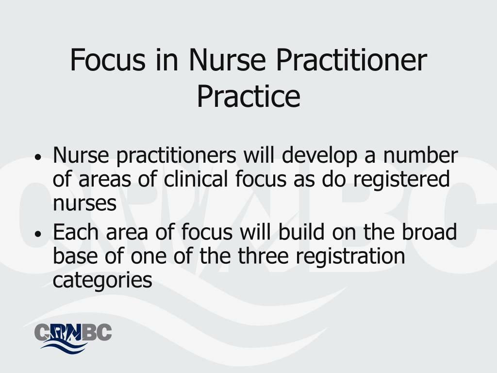Focus in Nurse Practitioner Practice