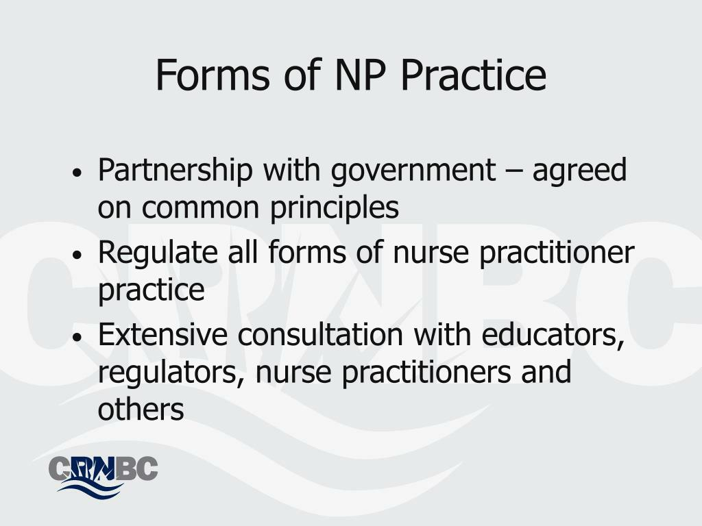 Forms of NP Practice