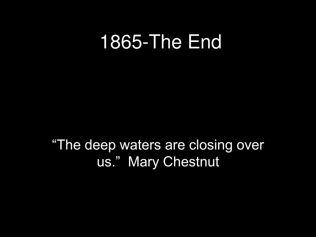 1865-The End
