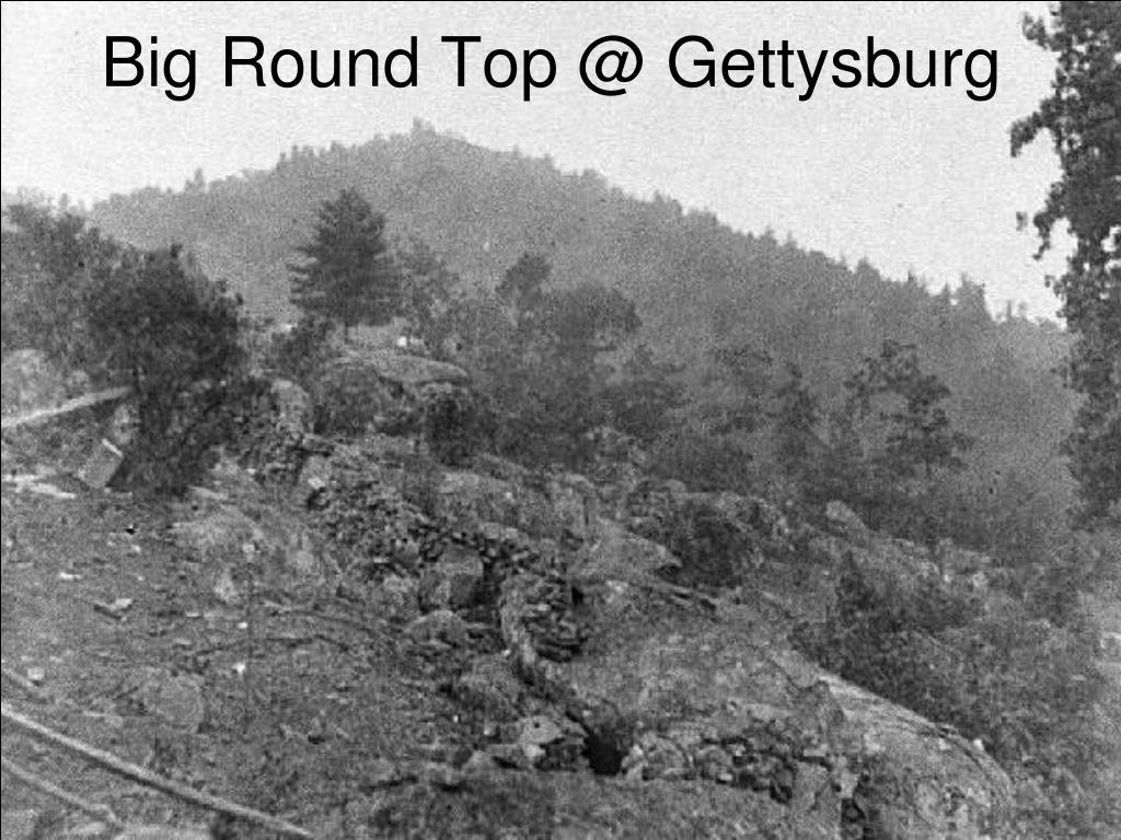 Big Round Top @ Gettysburg