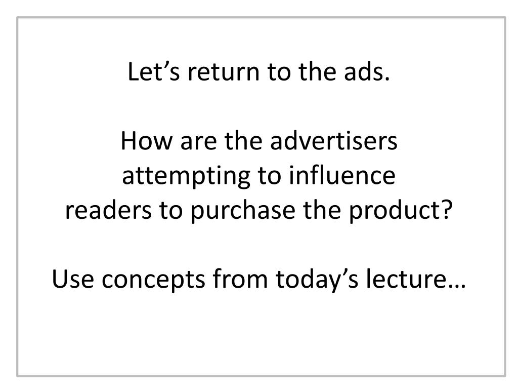 Let's return to the ads.