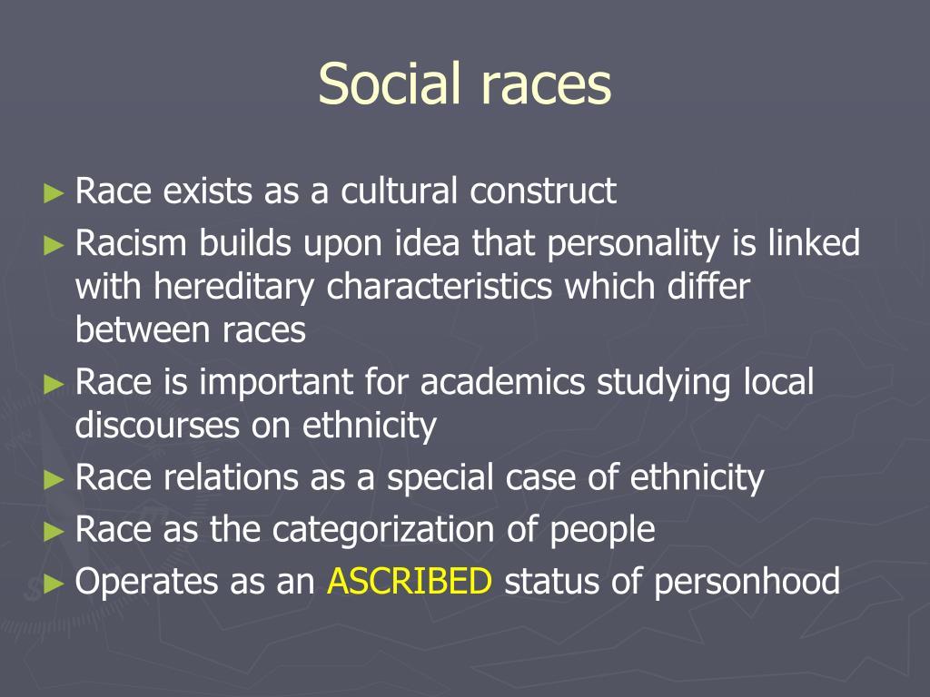 Social races