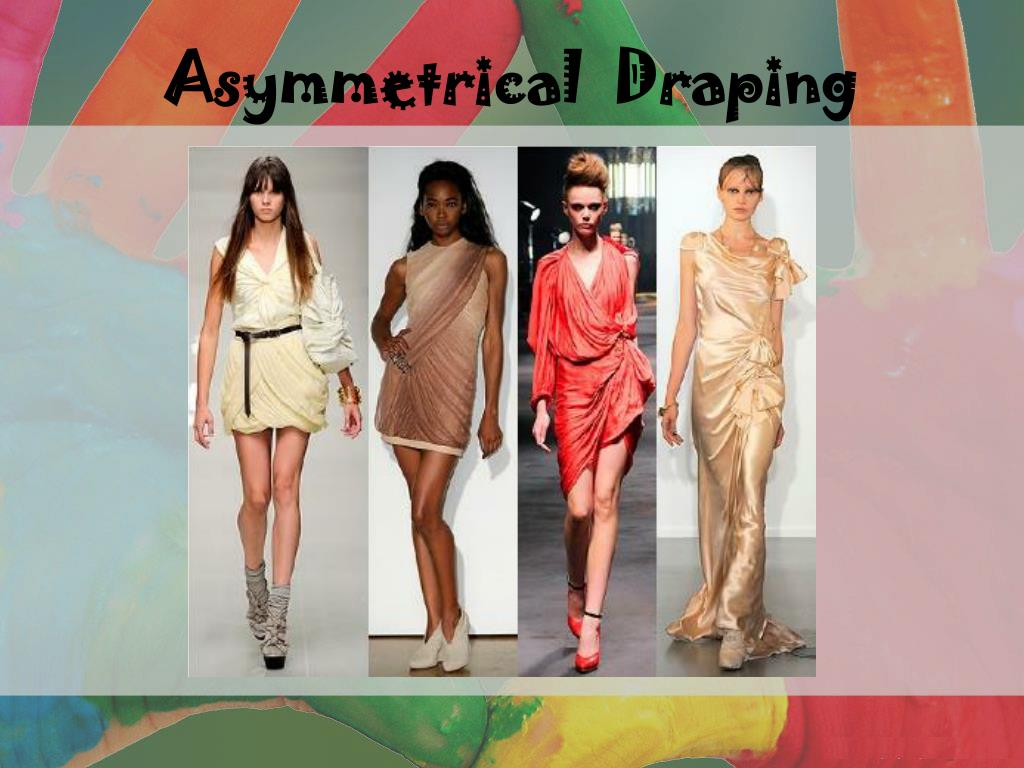 Asymmetrical  Draping