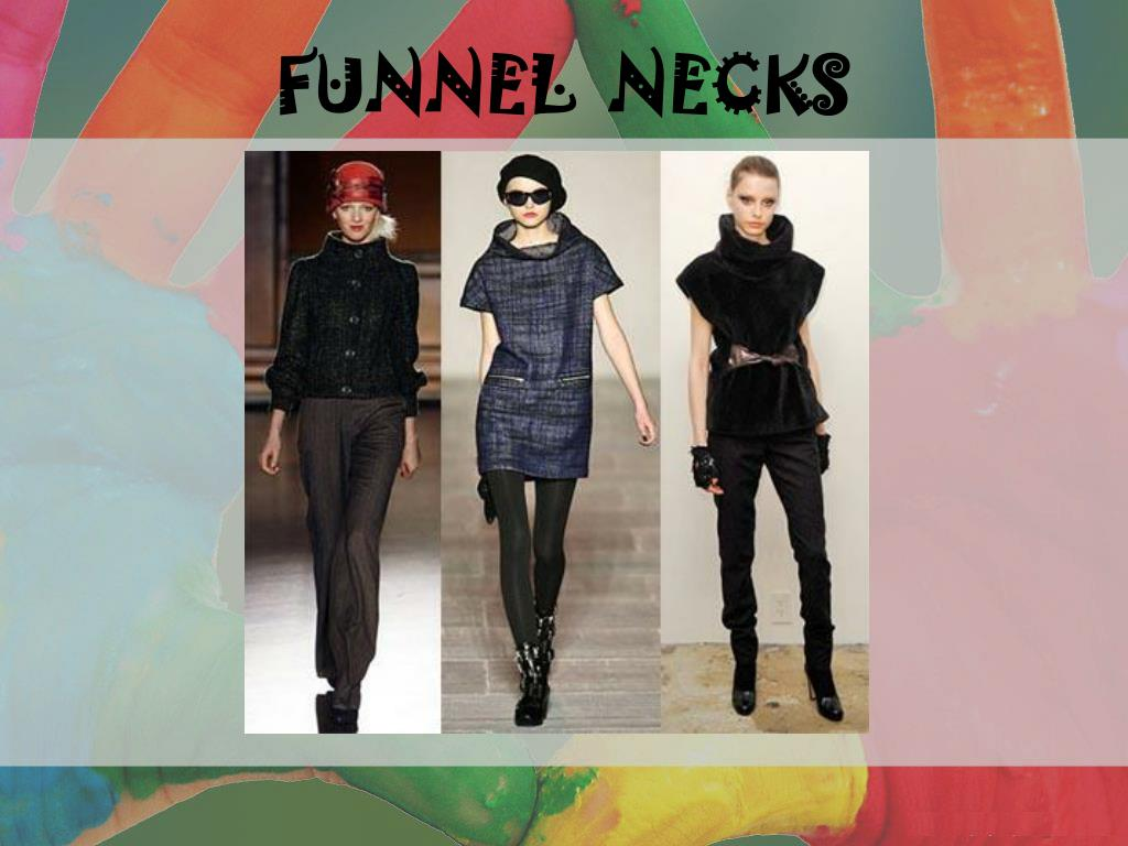 FUNNEL  NECKS