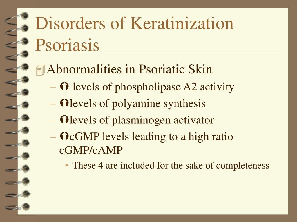 Disorders of Keratinization
