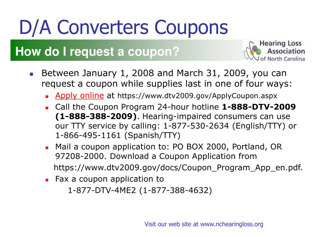 D/A Converters Coupons