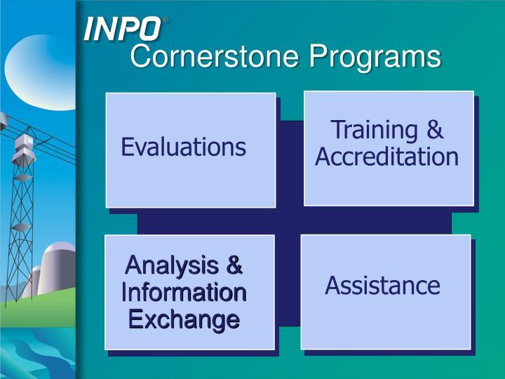 Cornerstone Programs