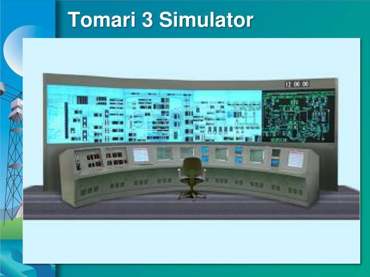 Tomari 3 Simulator