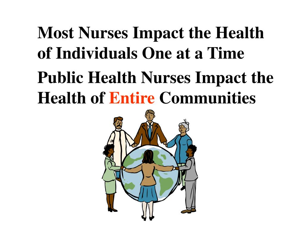 Most Nurses Impact the Health of Individuals One at a Time