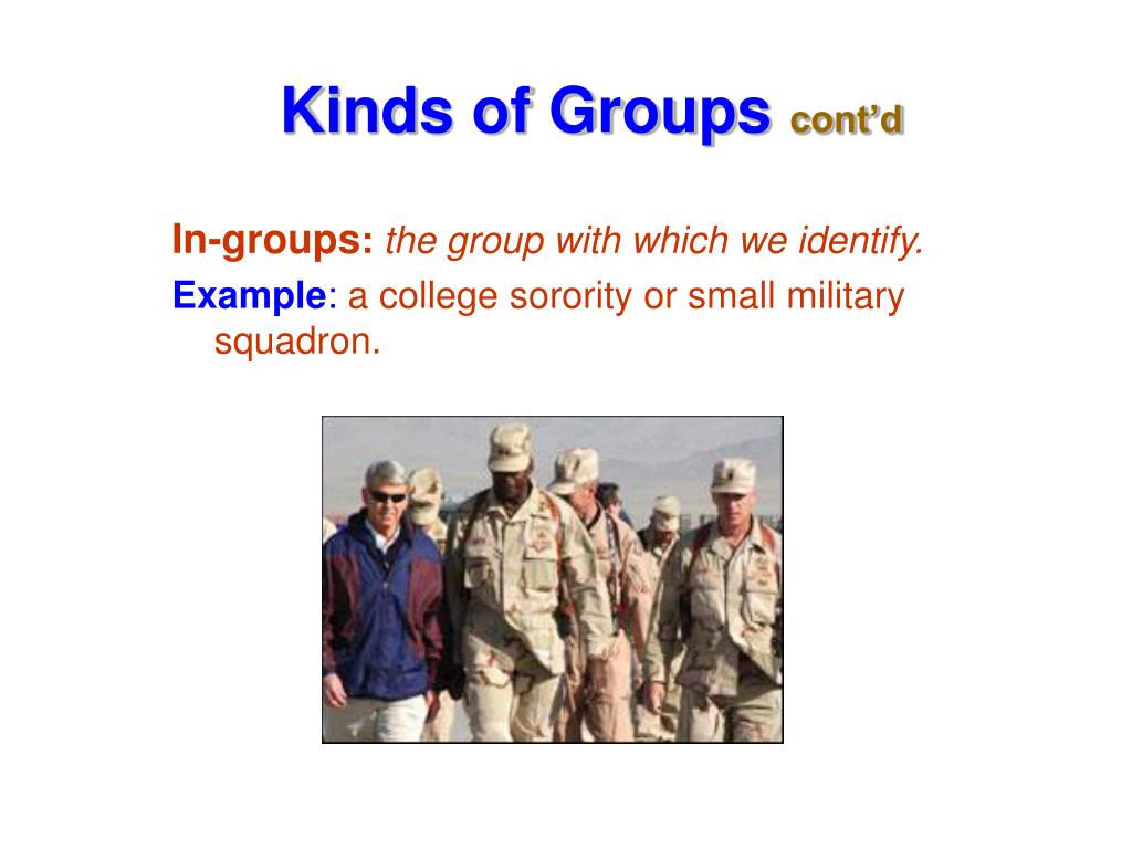 In-groups