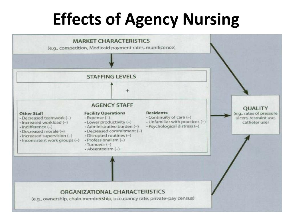 Effects of Agency Nursing