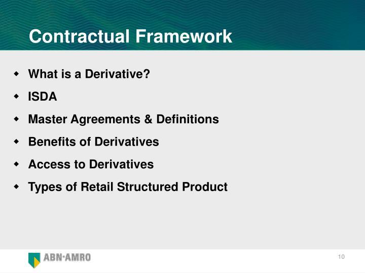 Contractual Framework