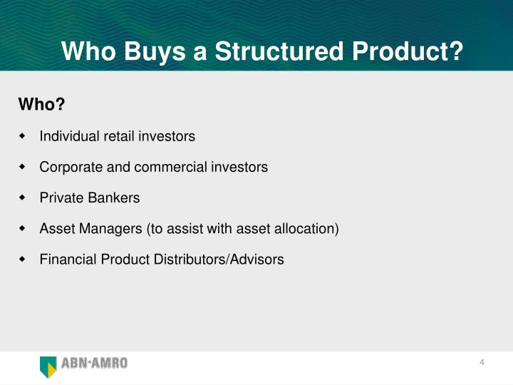 Who Buys a Structured Product?