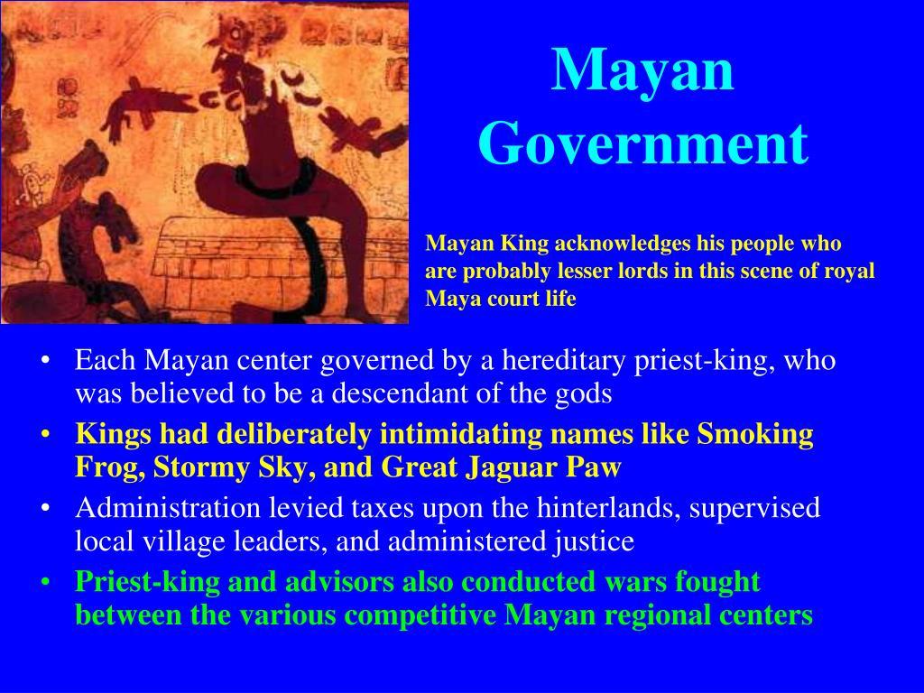 Mayan Government