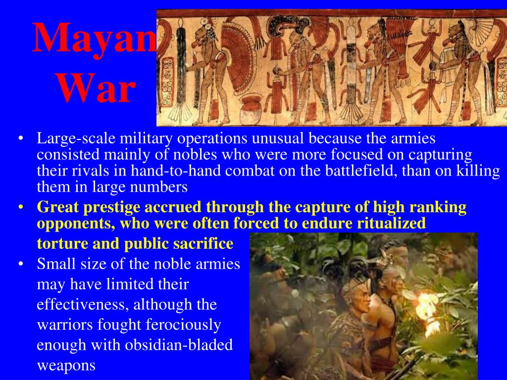 Mayan War