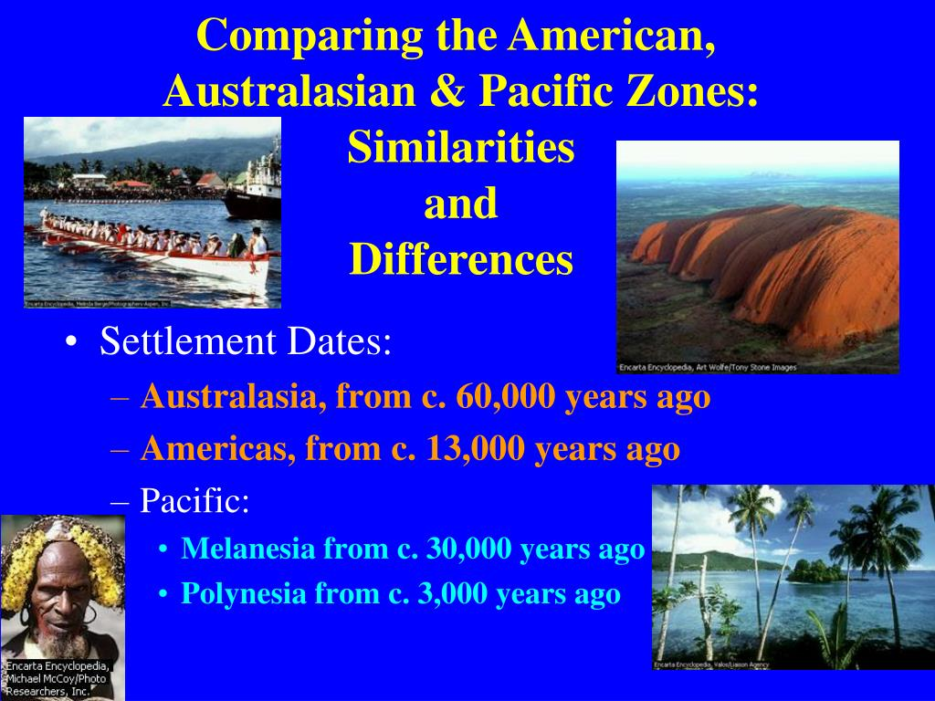 Comparing the American,