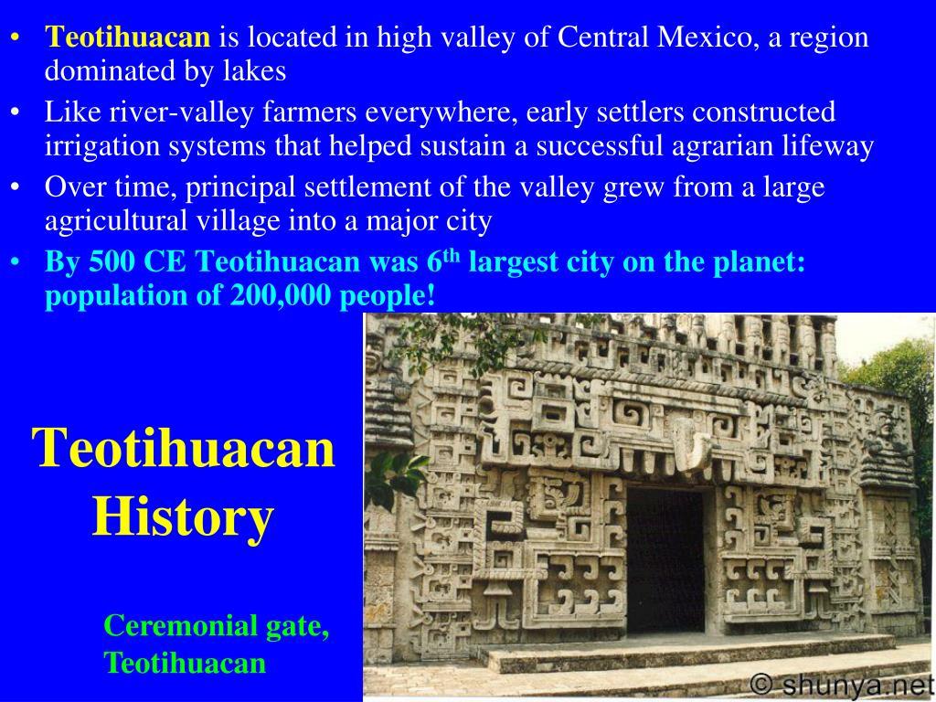 Teotihuacan History