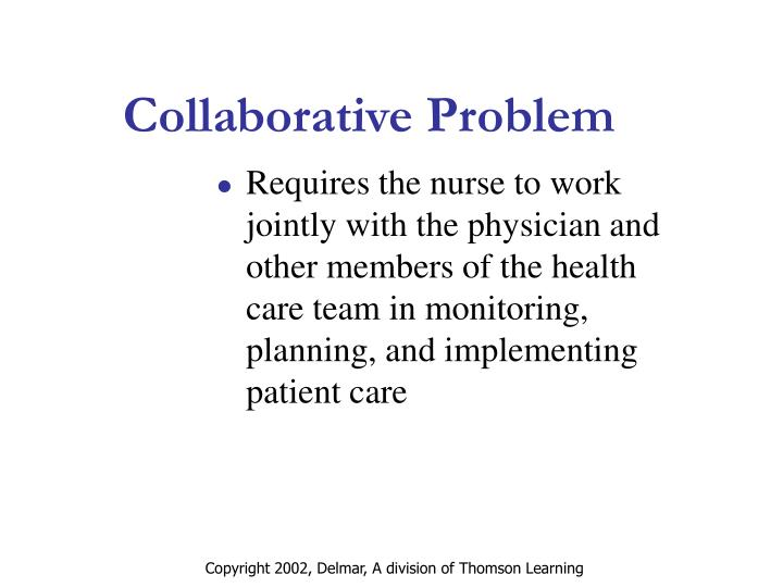 Collaborative Problem