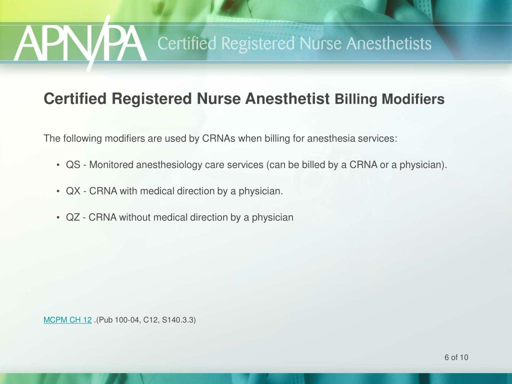 Certified Registered Nurse Anesthetist