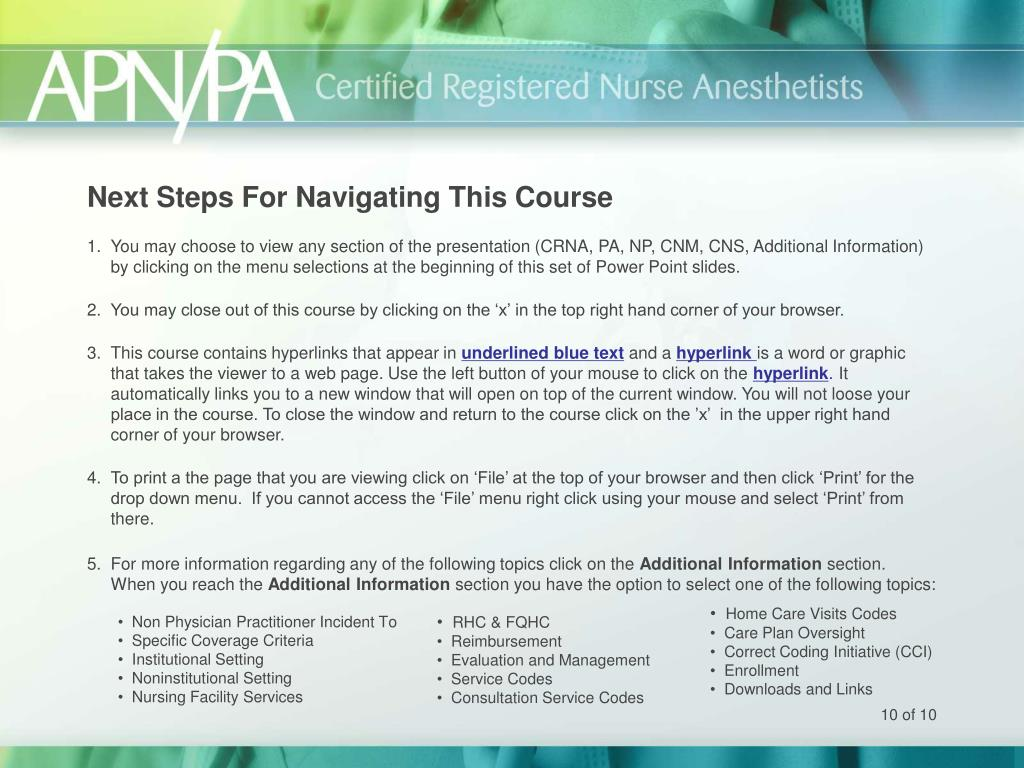 Next Steps For Navigating This Course