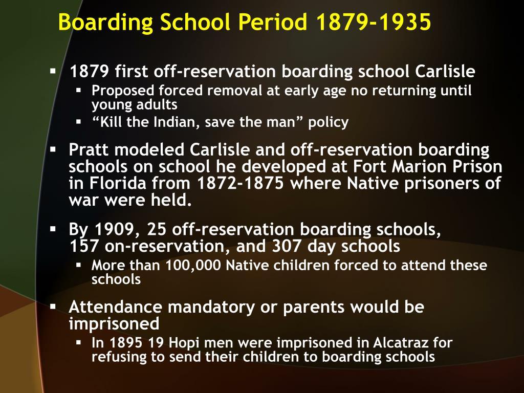 Boarding School Period 1879-1935