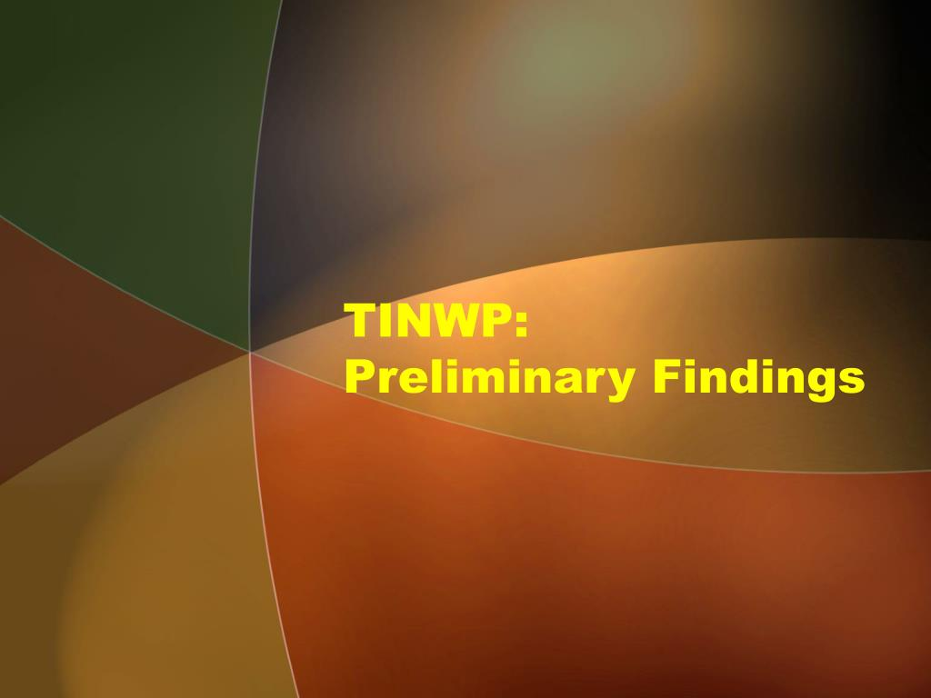 TINWP: