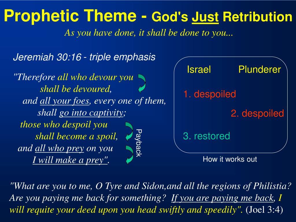 Prophetic Theme -