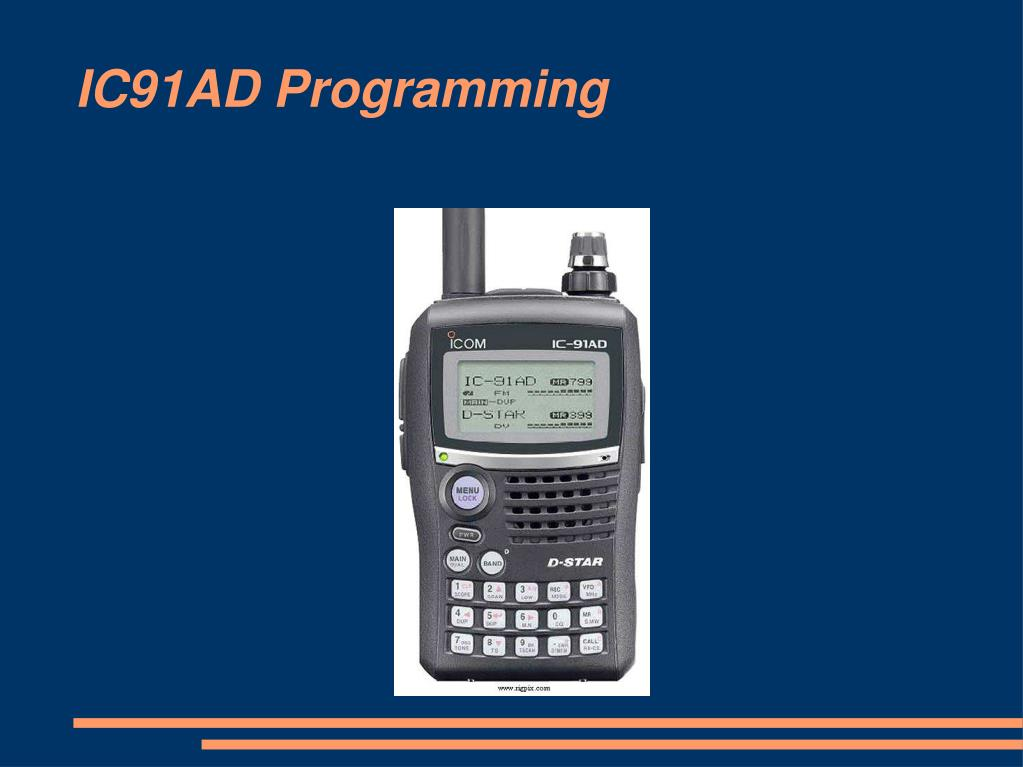 IC91AD Programming