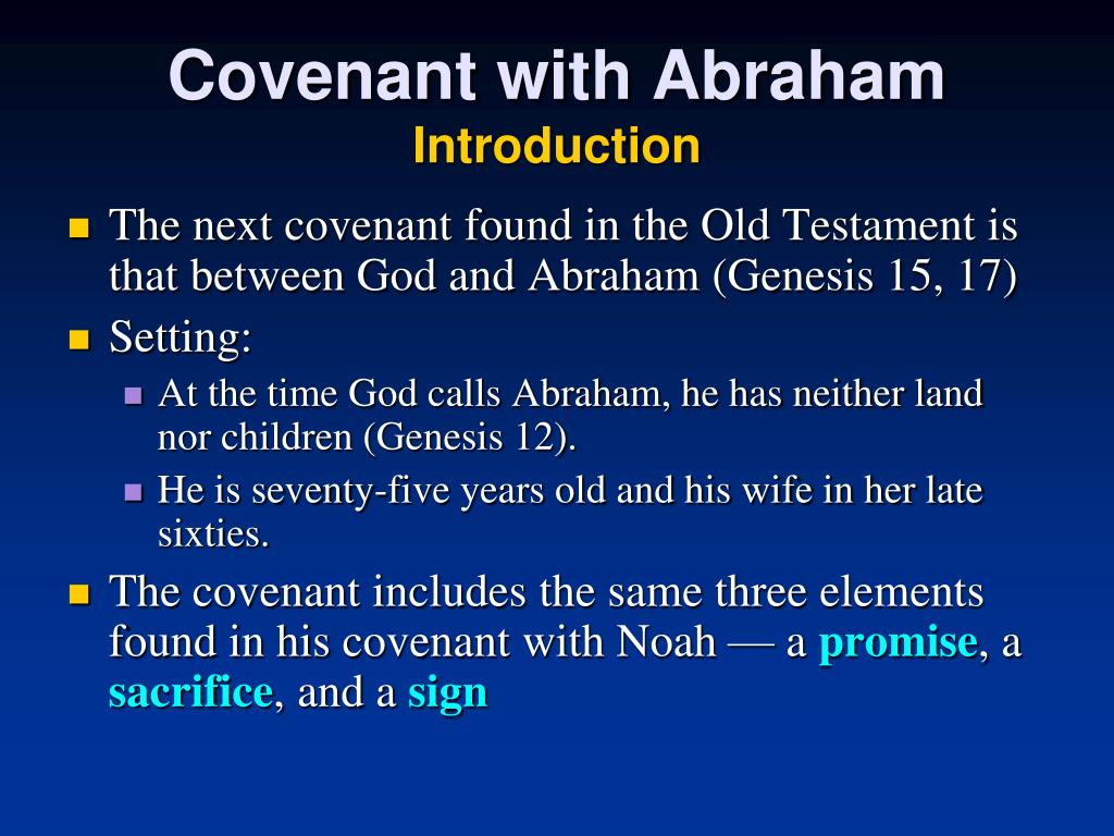 Covenant with Abraham