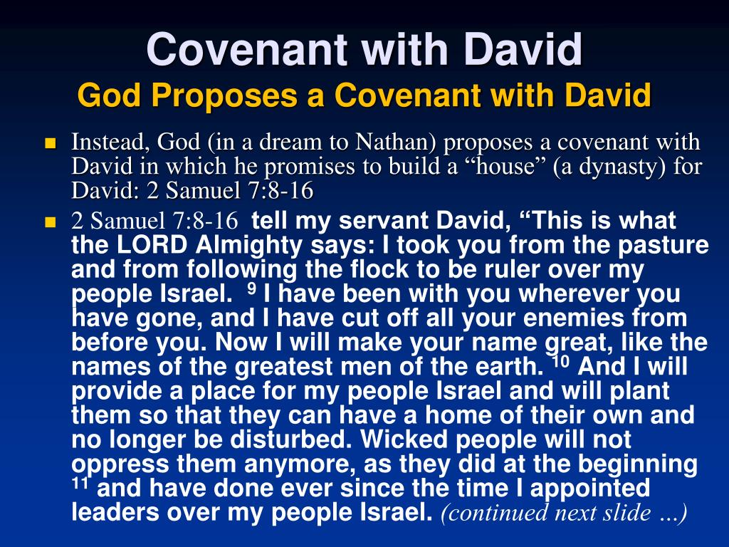 Covenant with David