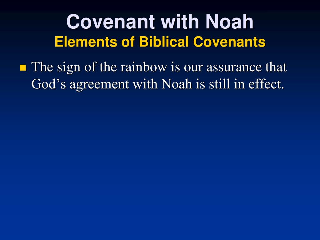 Covenant with Noah