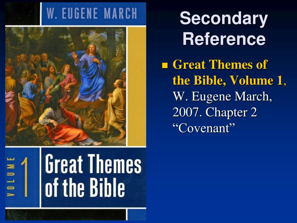 Secondary Reference