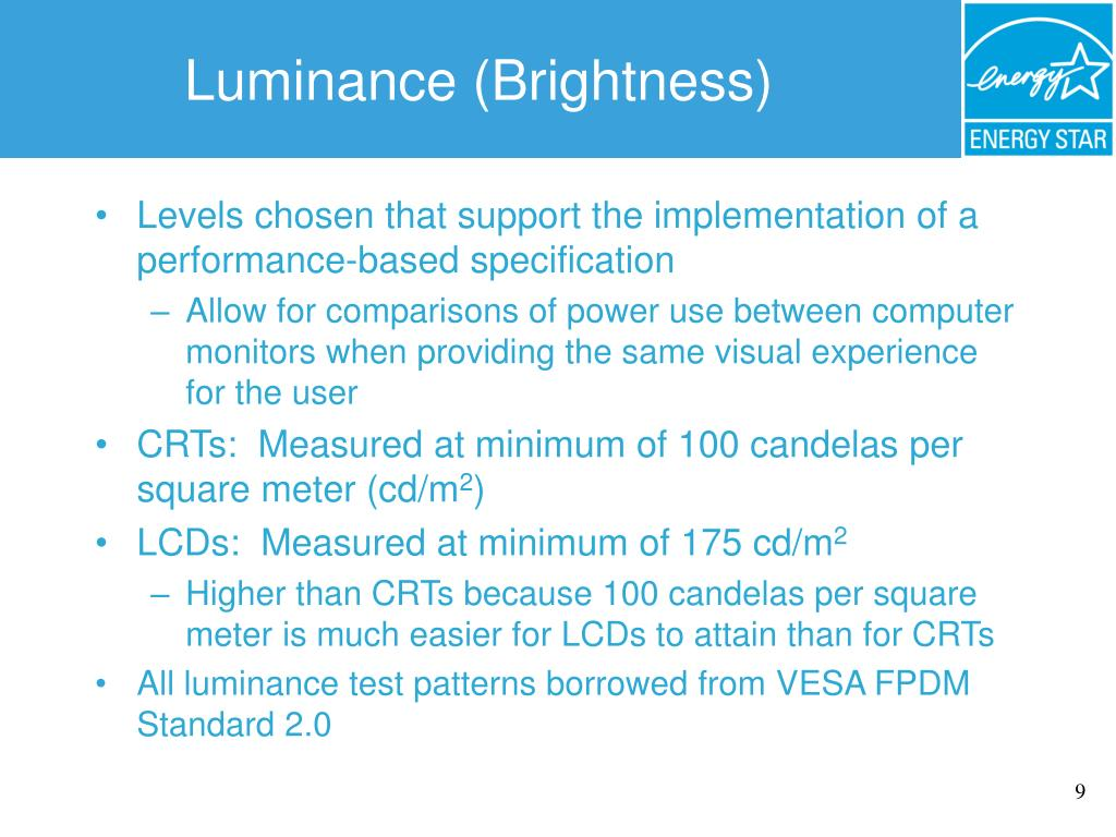 Luminance (Brightness)