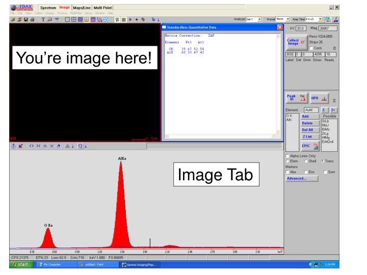 Image Tab