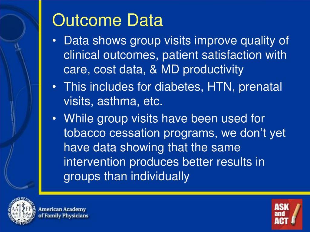 Outcome Data