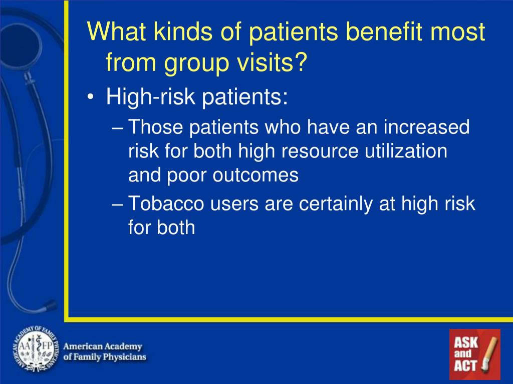 What kinds of patients benefit most from group visits?