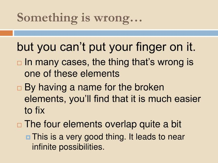 Something is wrong…