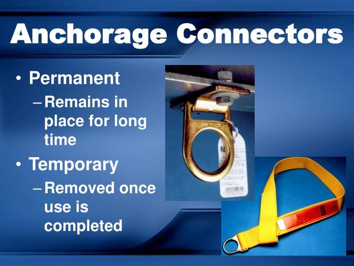 Anchorage Connectors